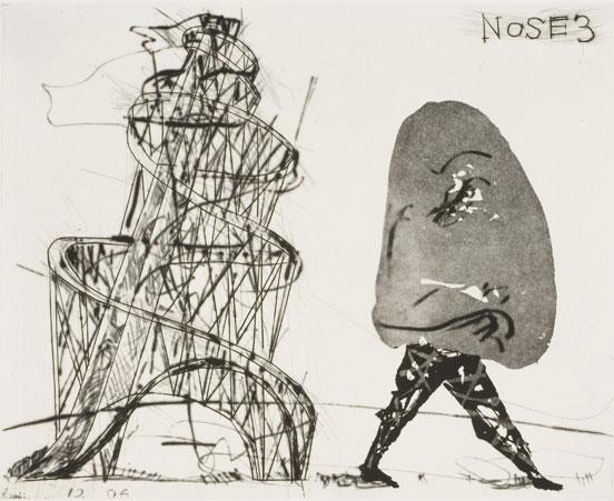 Wiliam Kentridge. The Nose 3
